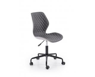 Kancelárska stolička Uber - tmavosivá / sivá
