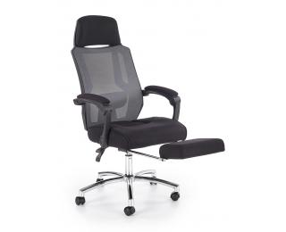Kancelárske kreslo s podrúčkami Freeman - čierna / sivá