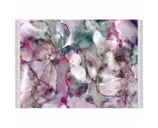 Koberec Delila 80x150 cm - ružová / zelená / krémová