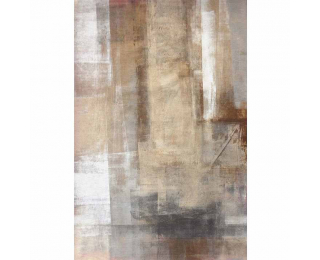 Koberec Esmarina Typ 1 160x230 cm - hnedá / sivá