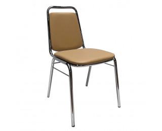 Konferenčná stolička Zeki - hnedá