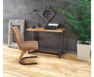 Konzolový stolík KN-3 - dub zlatý / čierna