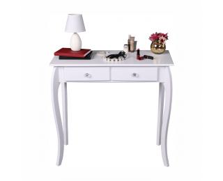 Konzolový stolík Slice - biela