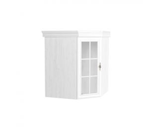 Rustikálna rohová vitrína (nadstavba) Kora KNN1 - sosna Andersen