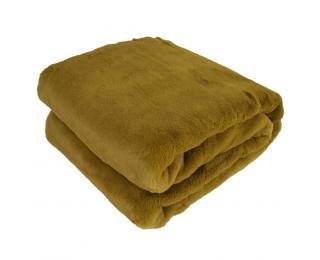 Kožušinová deka Rabita Typ 8 New 150x180 cm - zelená