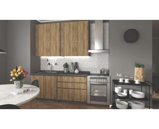Kuchyňa Idea 180 - dub wotan / antracit