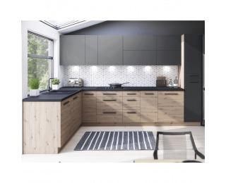 Kuchyňa Langen - dub artisan / sivá