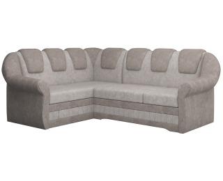 Rohová sedačka s rozkladom a úložným priestorom Latino II L - béžová / svetlohnedá