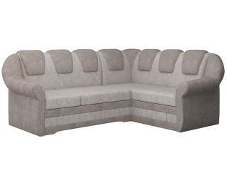 Rohová sedačka s rozkladom a úložným priestorom Latino II P - béžová / svetlohnedá