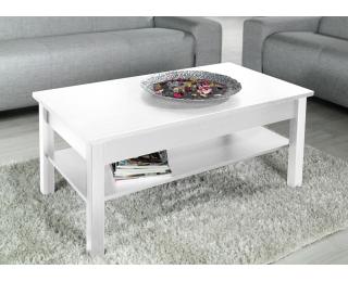 Konferenčný stolík Lawa - biela