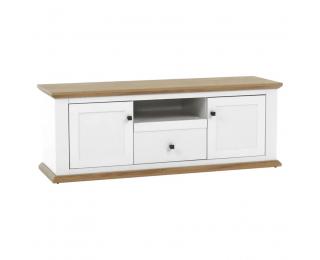 TV stolík Leon MZ15 - biela / dub grand