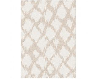 Koberec Libar 67x120 cm - krémová / biela