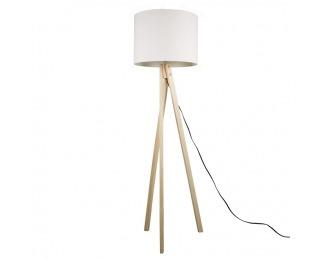 Stojacia lampa Lila Typ 6 - biela / prírodná