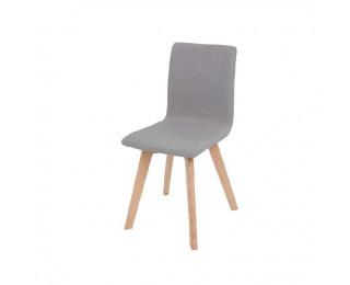 Jedálenská stolička Lodema - sivohnedá / buk
