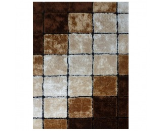 Koberec Ludvig Typ 3 100x140 cm - béžová / hnedá