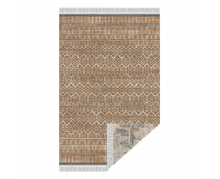 Obojstranný koberec Madala 180x270 cm - vzor / hnedá