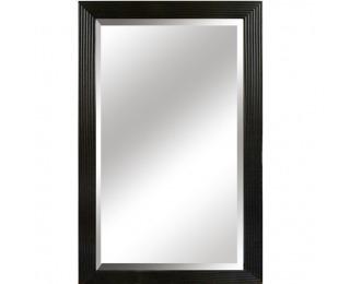 Zrkadlo na stenu Malkia Typ 1 - čierna