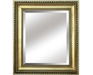 Zrkadlo na stenu Malkia Typ 10 - zlatá