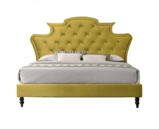 Manželská posteľ s roštom Reina 180x200 cm - zlatá