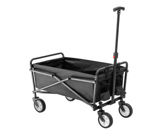 Záhradný vozík Mates - čierna