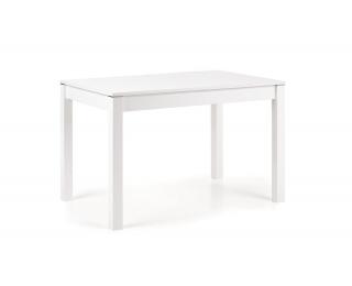 Rozkladací jedálenský stôl Maurycy - biela