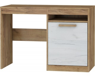 PC stôl Maximus MXS-02 - craft zlatý / craft biely