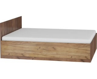 Manželská posteľ s roštom Maximus MXS-18 160 - craft tobaco / craft zlatý