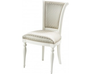 Jedálenská stolička Florencja FL-14 - béžový vzor (A4 1013) / vanilka