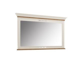 Zrkadlo na stenu Florencja FL-L2 - vanilka / dub Florencja