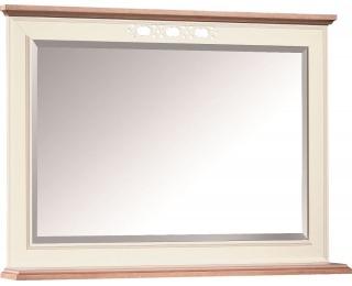 Zrkadlo na stenu Florencja FL-L3 - vanilka / dub Florencja