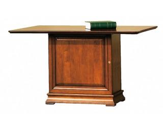 Rustikálny pomocný stôl Senator SE-1 - toffi