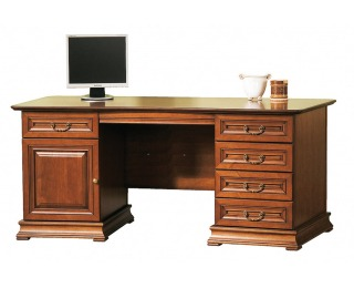 Rustikálny PC stôl Senator SE - toffi