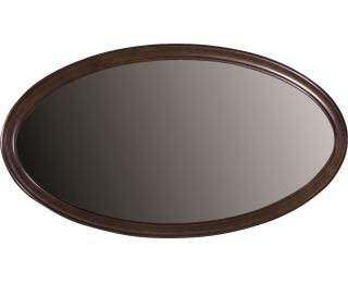Rustikálne zrkadlo na stenu Verona V-L - hnedá