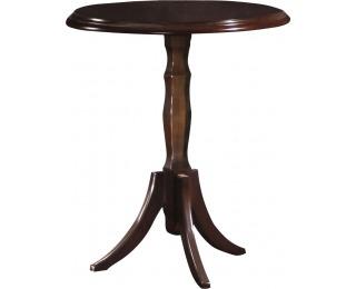 Rustikálny okrúhly konferenčný stolík Verona V-M - hnedá