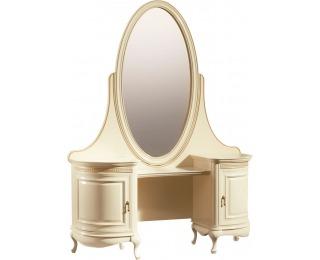 Rustikálny toaletný stolík Verona V - krém patyna