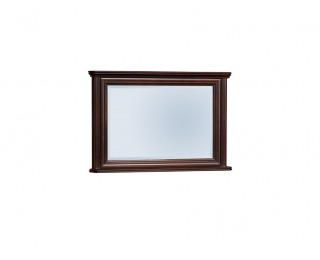 Rustikálne zrkadlo na stenu Wersal W-L2 - wenge