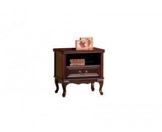 Rustikálny nočný stolík Wersal W-SZN - wenge