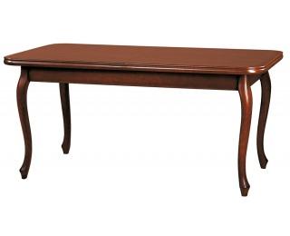 Rustikálny rozkladací jedálenský stôl Wersal ZB-2 - toffi