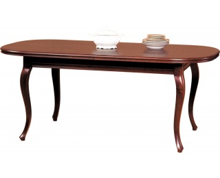 Rustikálny rozkladací jedálenský stôl Wersal ZB-5 - toffi