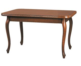 Rustikálny rozkladací jedálenský stôl Wersal ZB-7 - toffi