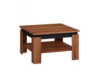 Konferenčný stolík Alfa - slivka / čierny vysoký lesk