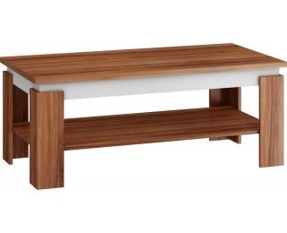 Konferenčný stolík Beta - slivka / biela