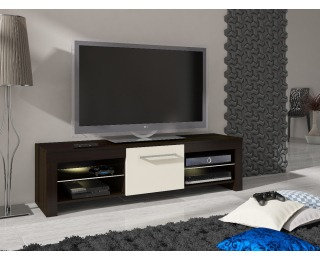 TV stolík Flex - wenge / krém