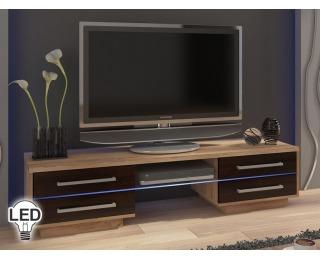 TV stolík Laguna - sonoma svetlá / sonoma tmavá