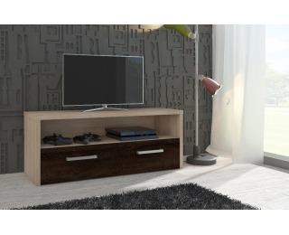 TV stolík Tirana - sonoma svetlá / sonoma tmavá