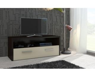 TV stolík Tirana - wenge / krém