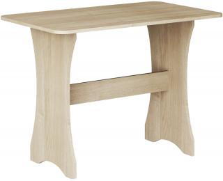 Jedálenský stôl ZKU-03 - sonoma svetlá