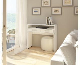 PC stolík Zoom - biela