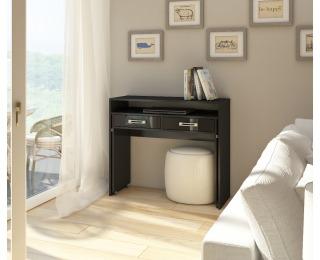 PC stolík Zoom - čierna / čierny lesk