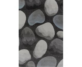 Koberec Menga 67x120 cm - hnedá / sivá / vzor kamene